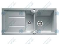 Керамическая мойка BLANCO Idessa 6S серый алюминий 516005