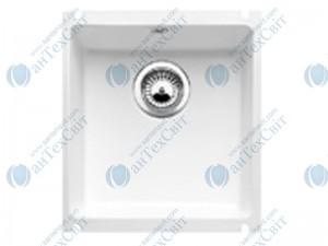 Керамическая мойка BLANCO Subline 375-U  глянцевый белый 516035