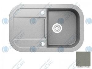 Гранитная мойка MARMORIN Laver 510113010 steel metalic