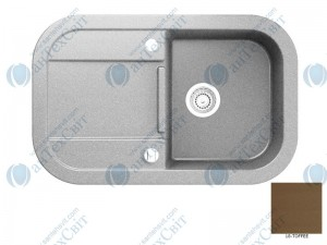 Гранитная мойка MARMORIN Laver 510113018 toffee