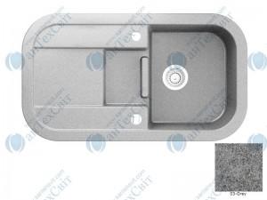 Гранитная мойка MARMORIN Laver 510513003 grey