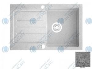 Гранитная мойка MARMORIN Tellur 380113003 grey
