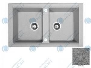 Гранитная мойка MARMORIN Profir 160203003 grey