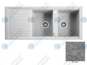 Гранитная мойка MARMORIN Profir 160213003 grey