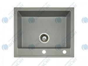 Гранитная мойка MARMORIN Bario 120103010 steel metalic