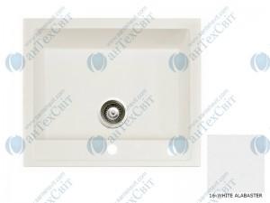 Гранитная мойка MARMORIN Bario 120103016 white alabaster