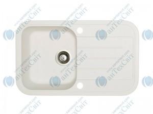 Гранитная мойка MARMORIN Pesta 170113016 white alabaster