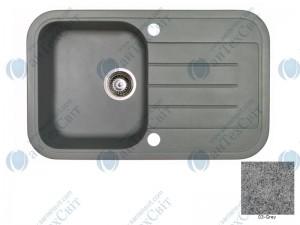 Гранитная мойка MARMORIN Pesta 170113003 grey