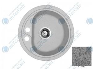 Гранитная мойка MARMORIN Vask 260803003 grey