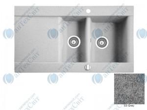 Гранитная мойка MARMORIN Voga 110513003 grey