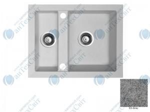 Гранитная мойка MARMORIN Cire 375503003 grey