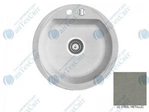 Гранитная мойка MARMORIN Duro 130803010 steel metalic