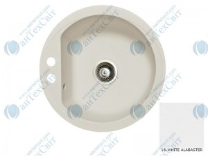 Гранитная мойка MARMORIN Duro 130803016 white alabaster