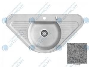 Гранитная мойка MARMORIN Duro 130743003 grey