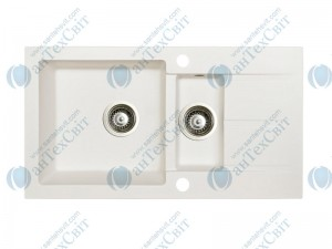 Гранитная мойка MARMORIN Tama 390513016 white alabaster