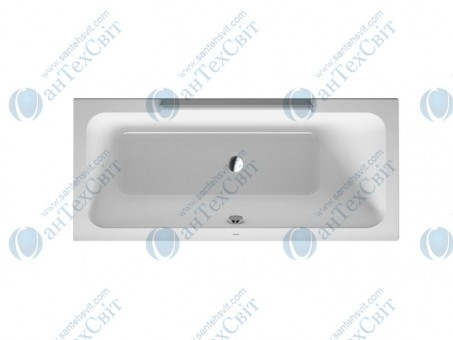 Акриловая ванна DURAVIT 160x70 DuraStyle (700293000000000)