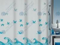 Шторка для ванной текстильная SPIRELLA  Crane 200х180 (10.16738)