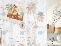Шторка для ванной текстильная SPIRELLA  Kaya 200х180 (10.17892)