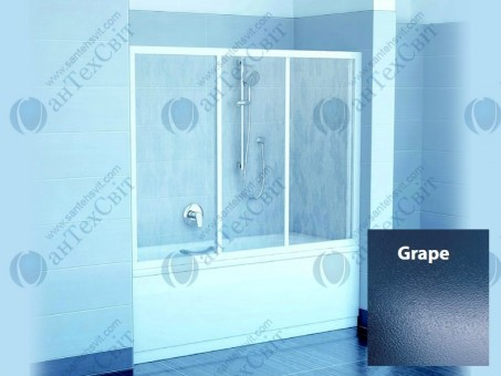 Шторка для ванной RAVAK AVDP3 170 40VV0102ZG