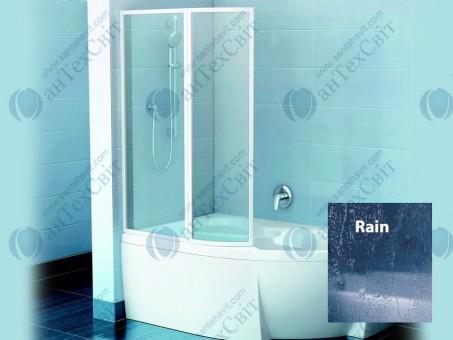 Шторка для ванной RAVAK VSK2 Rosa 140 76L7010041