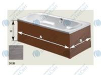 Панель для ванны RIHO Деревянная 190 orme (P190DOR000000000)