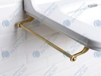 Полотенцедержатель под умывальник KERASAN Waldorf (740893) бронза