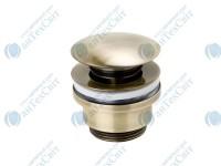 Донный клапан GENEBRE Luxe bronze click pop-up (100211 43)