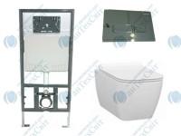 Комплект инсталляция с унитазом IDEVIT Halley (SETK3204-2616-001-1-6000+53-01-04-009+53-01-04-032)
