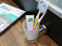 Стакан для зубных щеток DIBANYO Amasra (123015)