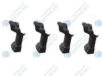Ножки MARMORIN для ванны Fama (566 016 xx x) черные