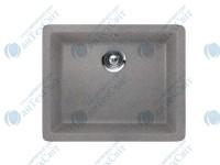 Гранитная мойка TEKA Radea 490/370 TG (40143659) серый металлик