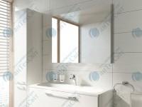 Зеркало RAVAK Ring 100 серый (X000000778)
