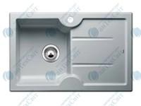Керамическая мойка BLANCO Idessa 45S L серый алюминий 514495